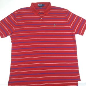 Vintage polo ralph lauren red polo tshirt